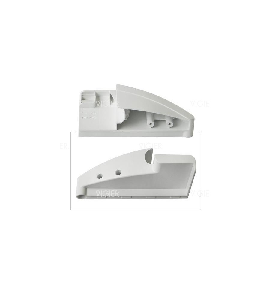 Fixation support gauche balconnet frigo liebherr 7430210 - Fixation porte frigo encastrable ...