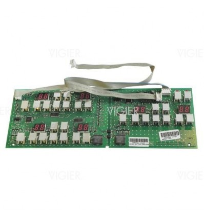 CARTE CLAVIER TABLE A INDUCTION SAUTER 7341-0341