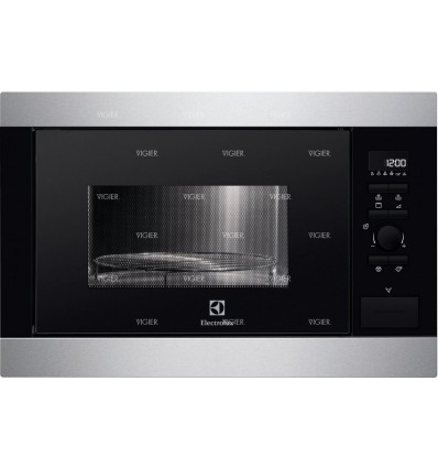 micro ondes grill 26 litres inox 900w 1000w electrolux. Black Bedroom Furniture Sets. Home Design Ideas