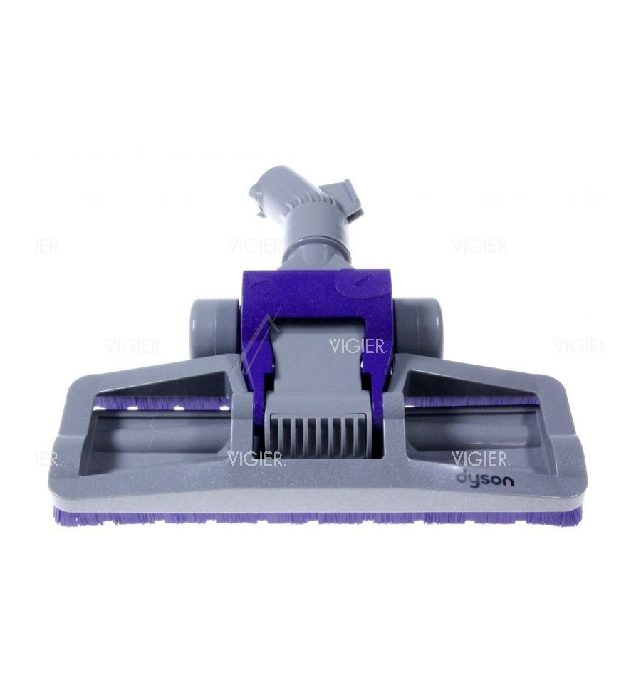 brosse combinee gris mauve pour aspirateur dyson dc15. Black Bedroom Furniture Sets. Home Design Ideas