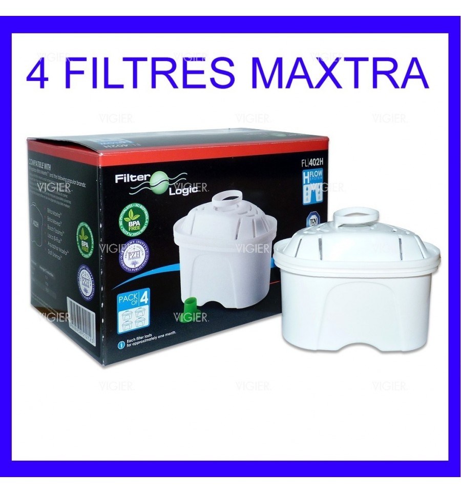 pack de 4 cartouches generiques brita maxtra filter logic. Black Bedroom Furniture Sets. Home Design Ideas