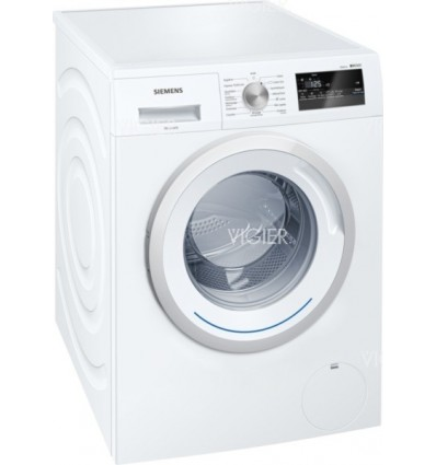 lave linge hublot 8kg iq300 siemens wm14n160ff vigier electrom nager. Black Bedroom Furniture Sets. Home Design Ideas